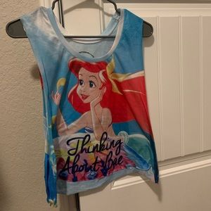 Disney The Little Mermaid Ariel Tank Wide Arm Hole
